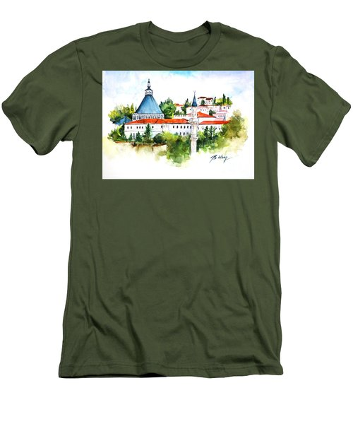 Basilica Of Annunciation, Nazareth Men's T-Shirt (Athletic Fit)