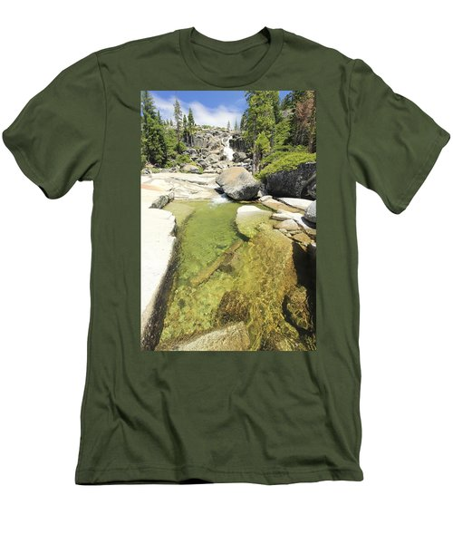 Men's T-Shirt (Athletic Fit) featuring the photograph Bassi Bliss by Sean Sarsfield