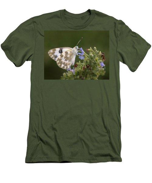 Bath White Men's T-Shirt (Athletic Fit)