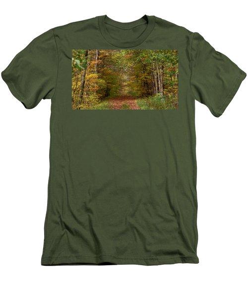Baxter's Hollow  Men's T-Shirt (Athletic Fit)