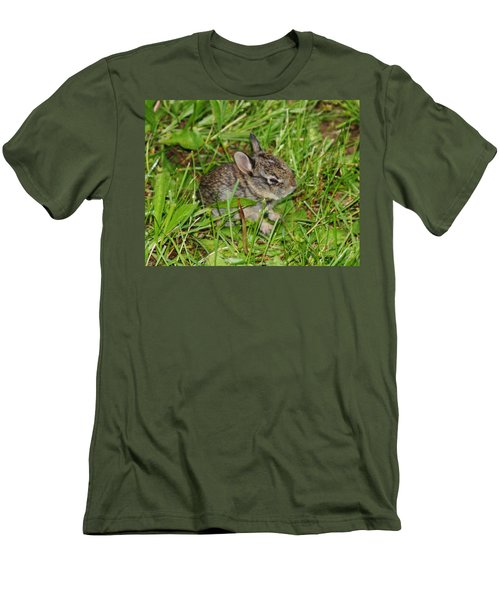 Men's T-Shirt (Athletic Fit) featuring the photograph Be Brave. Take A Chance. by Vadim Levin