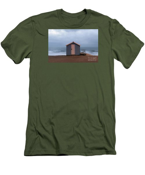 Beach Hut Men's T-Shirt (Athletic Fit)