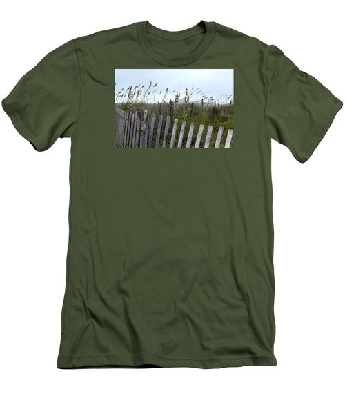 Beach Is Calling Men's T-Shirt (Slim Fit) by Deborah  Crew-Johnson