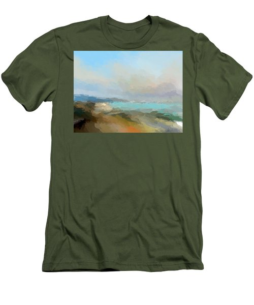 Beach Light Men's T-Shirt (Athletic Fit)