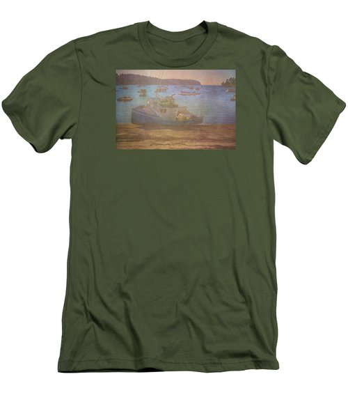 Beached For Cleaning Men's T-Shirt (Slim Fit) by Tom Singleton