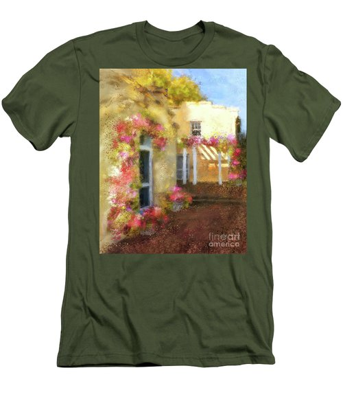 Men's T-Shirt (Slim Fit) featuring the digital art Beallair In Bloom by Lois Bryan