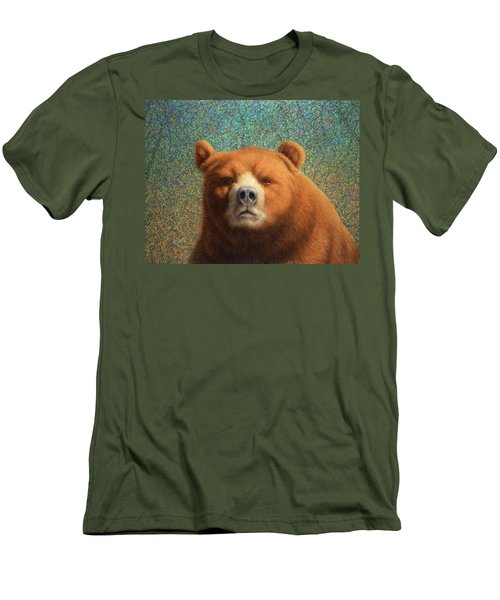 Bearish Men's T-Shirt (Slim Fit) by James W Johnson