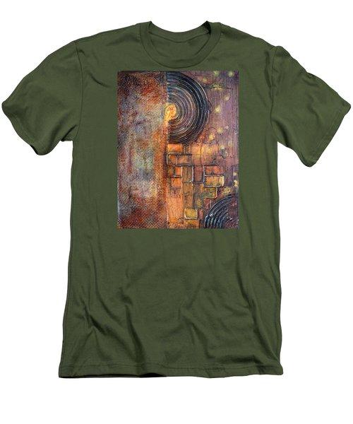 Beautiful Corrosion Men's T-Shirt (Slim Fit) by Theresa Marie Johnson
