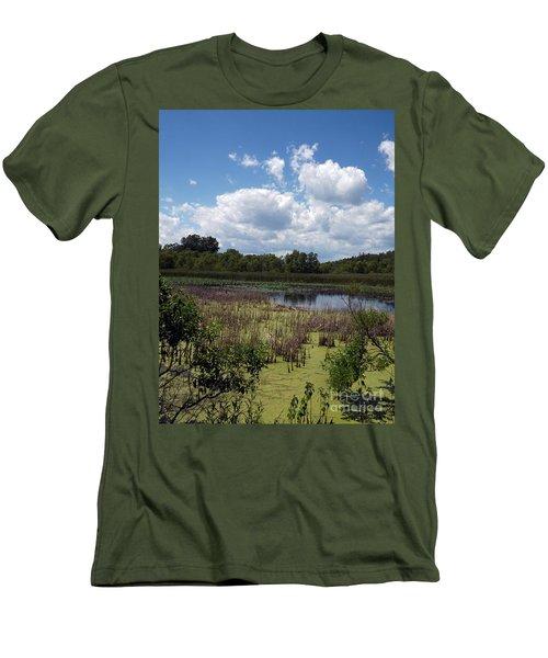 Beautiful Marsh View Men's T-Shirt (Athletic Fit)
