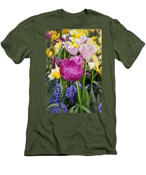 Beautiful Time Of Year Men's T-Shirt (Slim Fit) by Mike Martin