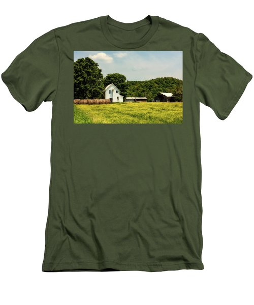 Beautiful West Virginia Men's T-Shirt (Slim Fit) by L O C