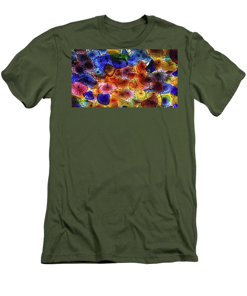 Beauty All Around Us Men's T-Shirt (Slim Fit) by Michael Rogers