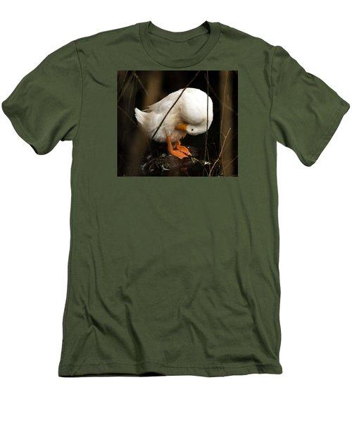 Beauty In Motion Men's T-Shirt (Slim Fit) by E Faithe Lester