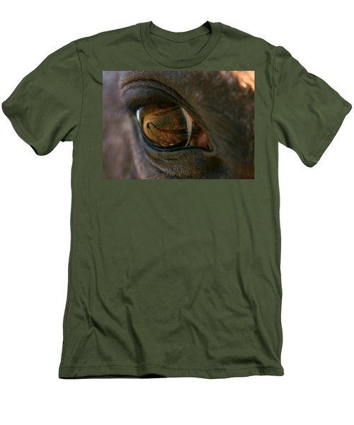 Beauty Is In The Eye Of The Beholder Men's T-Shirt (Slim Fit) by Angela Rath