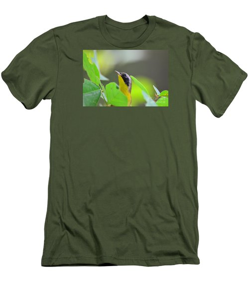 Men's T-Shirt (Slim Fit) featuring the photograph Beauty by Kathy Gibbons