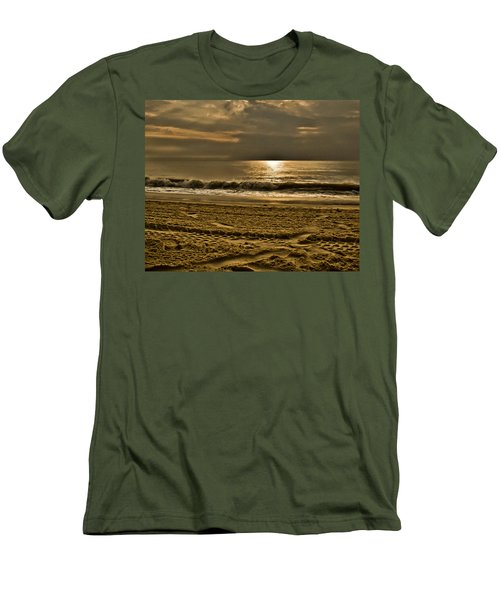 Beauty Of A Day Men's T-Shirt (Slim Fit) by Trish Tritz