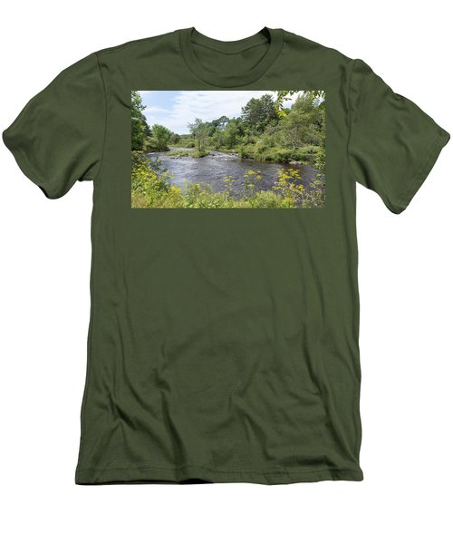 Men's T-Shirt (Athletic Fit) featuring the photograph Beauty Of Nature by John M Bailey