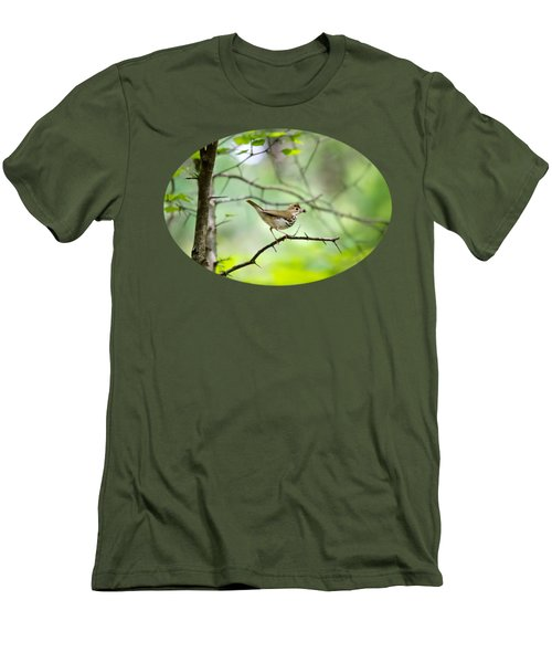 Beauty Of The Spring Forest Men's T-Shirt (Slim Fit) by Christina Rollo