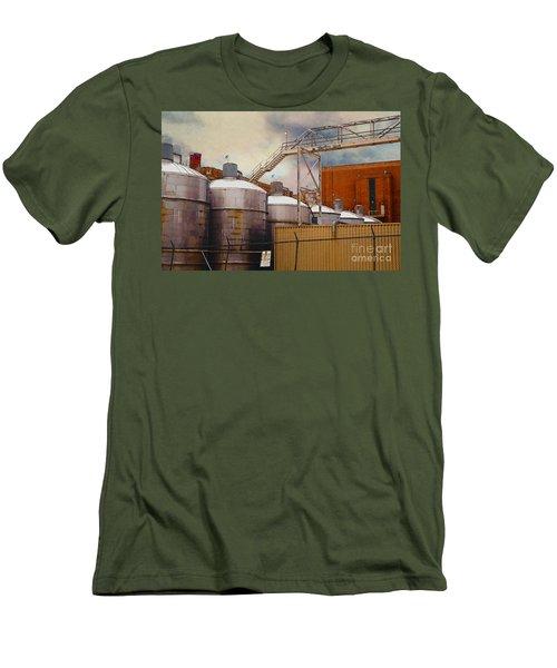 Beer Men's T-Shirt (Slim Fit) by David Blank