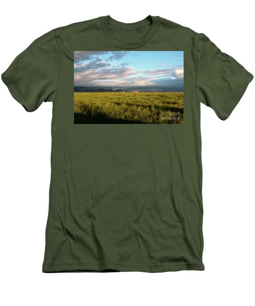 Before The Rainbow Men's T-Shirt (Slim Fit) by Janie Johnson