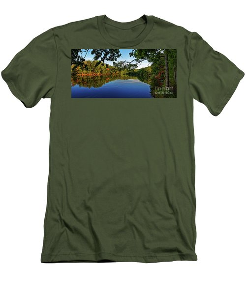 Beginning To Look Like Fall Men's T-Shirt (Athletic Fit)
