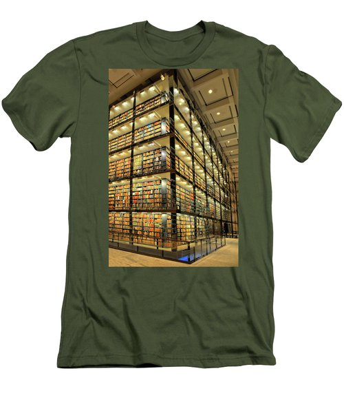 Beinecke Library At Yale University Men's T-Shirt (Athletic Fit)