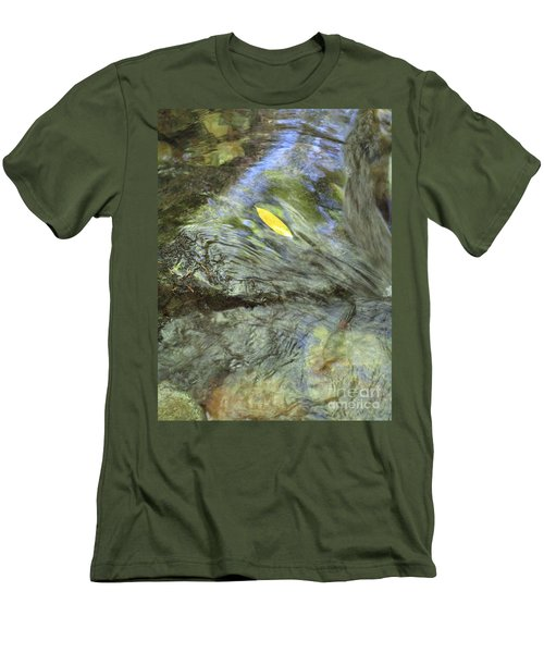 Men's T-Shirt (Athletic Fit) featuring the photograph Being Still by Marie Neder