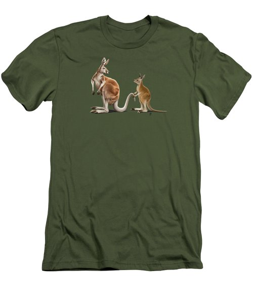 Being Tailed Wordless Men's T-Shirt (Slim Fit) by Rob Snow