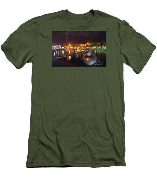 Belizean Night  Men's T-Shirt (Athletic Fit)