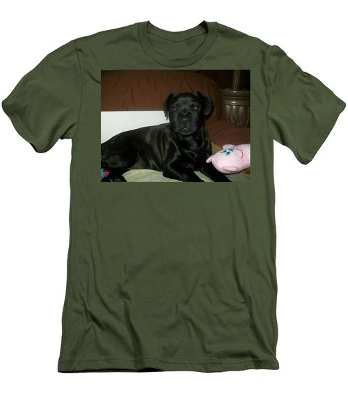 Men's T-Shirt (Slim Fit) featuring the photograph Bella by Jewel Hengen
