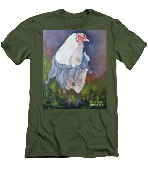 Beloved Chicken Men's T-Shirt (Athletic Fit)