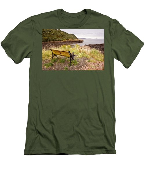 Bench At The Bay Men's T-Shirt (Athletic Fit)