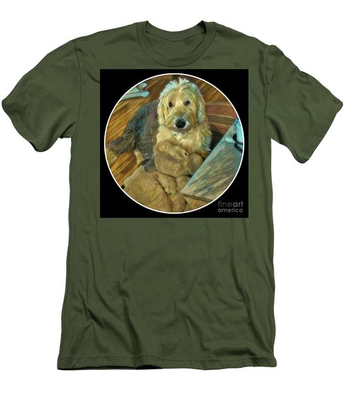 Bentley With His Baby Men's T-Shirt (Athletic Fit)