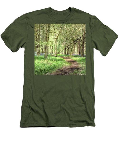 Bentley Woods, Warwickshire #landscape Men's T-Shirt (Athletic Fit)