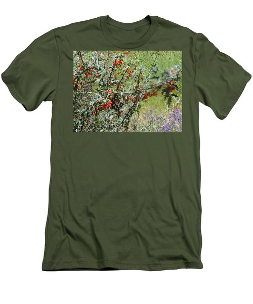 Berries On The Vine Men's T-Shirt (Athletic Fit)