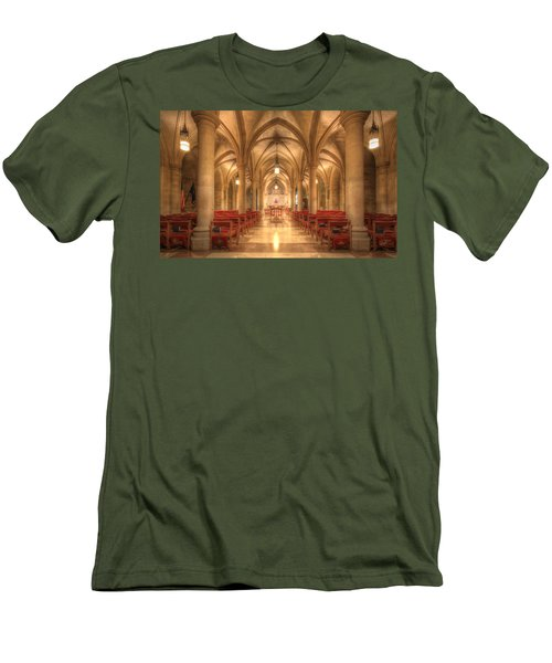 Bethlehem Chapel Washington National Cathedral Men's T-Shirt (Athletic Fit)