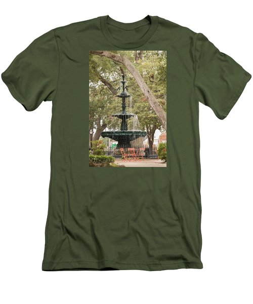 Men's T-Shirt (Athletic Fit) featuring the photograph Bienville Beauty by Julie Andel