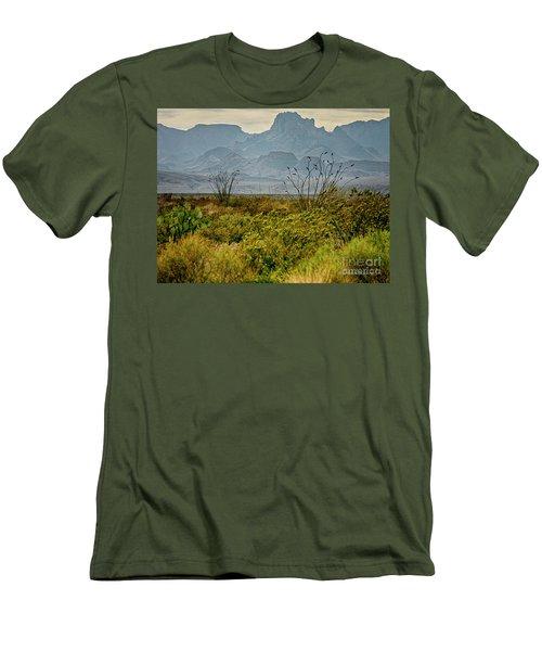 Big Bend Mountains Men's T-Shirt (Athletic Fit)