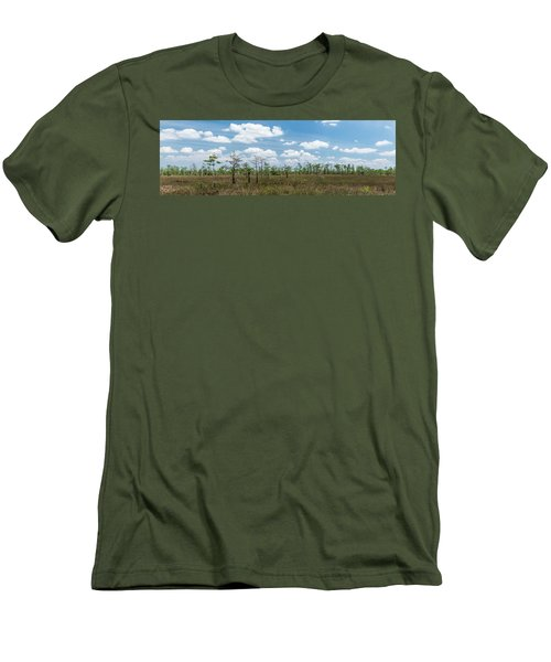 Men's T-Shirt (Slim Fit) featuring the photograph Big Cypress Marshes by Jon Glaser