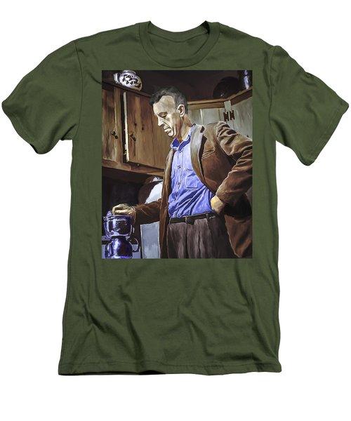 Bill Wilson Men's T-Shirt (Slim Fit) by Rick Mosher