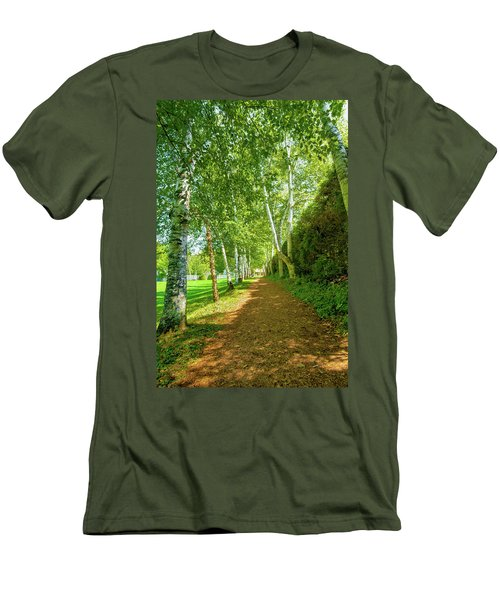 Birch Gauntlet Men's T-Shirt (Slim Fit) by Greg Fortier