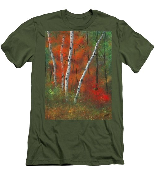 Birches II Men's T-Shirt (Athletic Fit)