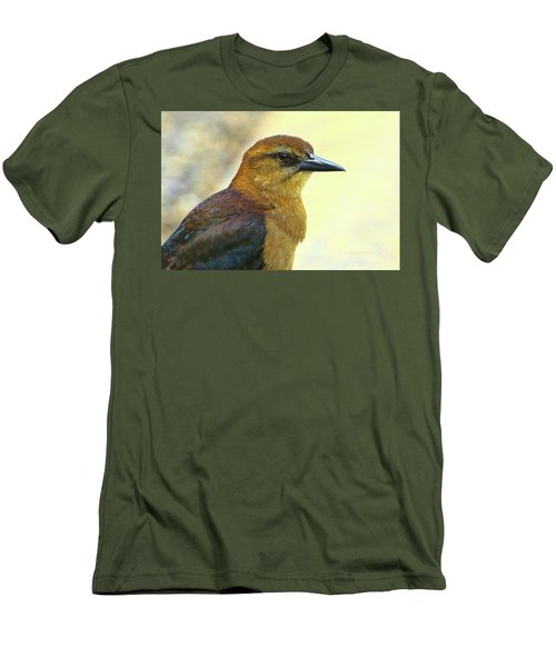 Men's T-Shirt (Slim Fit) featuring the photograph Bird Beauty by Deborah Benoit