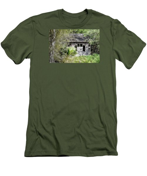 Bird Blind At Frontera Audubon Men's T-Shirt (Athletic Fit)