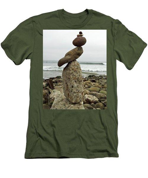 Bird Rock Art Men's T-Shirt (Slim Fit) by Joe  Palermo