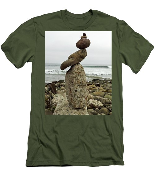 Bird Rock Art Men's T-Shirt (Slim Fit)