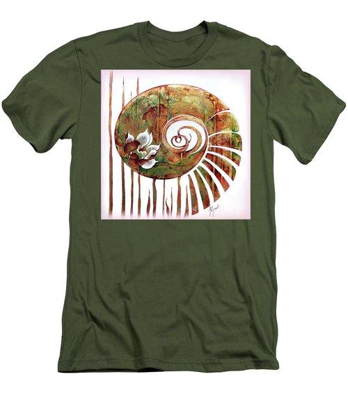 Birth Of Lotus Land Men's T-Shirt (Athletic Fit)
