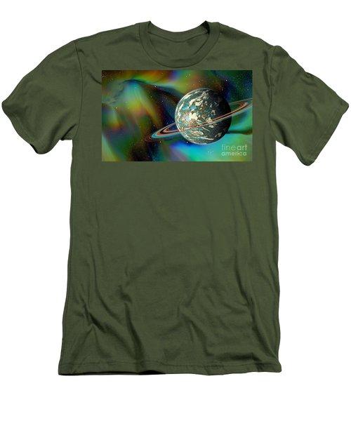 Birthing Planet Men's T-Shirt (Slim Fit) by Curtis Koontz