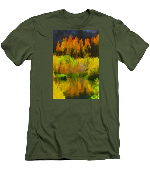 Bishop Creek Aspens Men's T-Shirt (Athletic Fit)