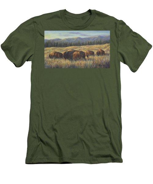 Bison Bliss Men's T-Shirt (Athletic Fit)
